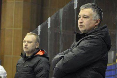 Наставники сборной - А.Савицкий и Д.Пидгурский